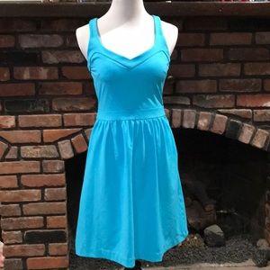 Cynthia Rowley aqua dress size small